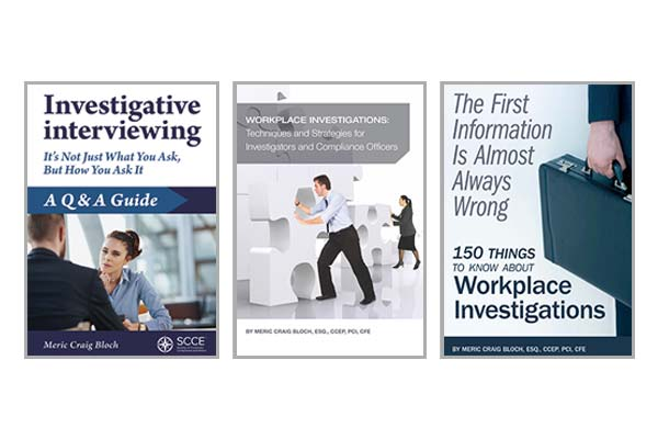 Workplace Investigations: 3-book set